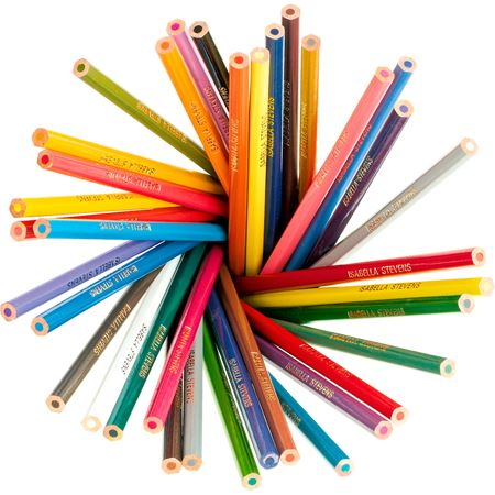 Picture of 36 Personalised Colouring Pencils