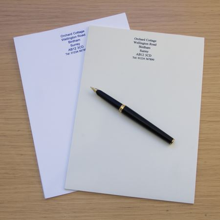 Picture of A5 Notepaper x 100 sheets