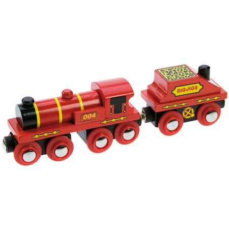 Picture of Big Red Train Engine