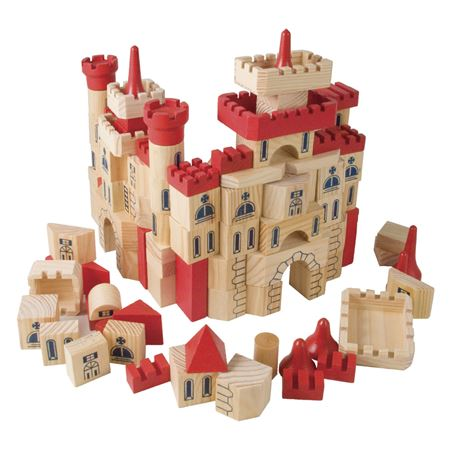 Picture of Castle Building Bricks in a Box