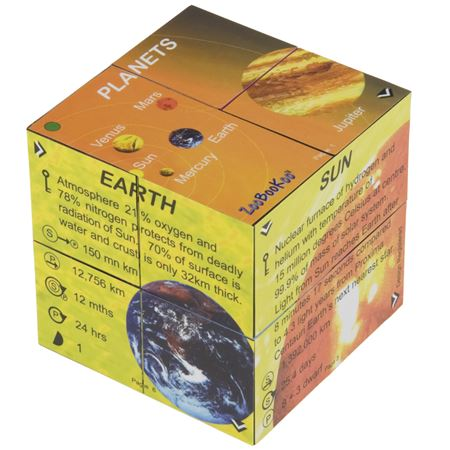 Picture of Zoobookoo Cube Book - Planets