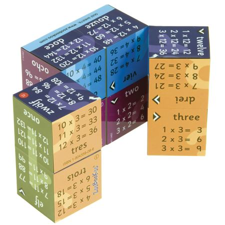 Picture of Zoobookoo Cube Book- Times Tables