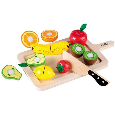 Picture of Wooden Cutting Fruits & Tray