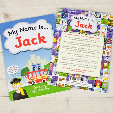 Picture of My Name Is - Personalised Book