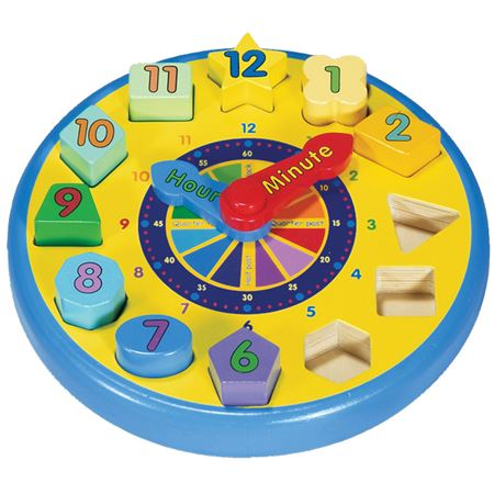Picture of Shape Sorting Clock