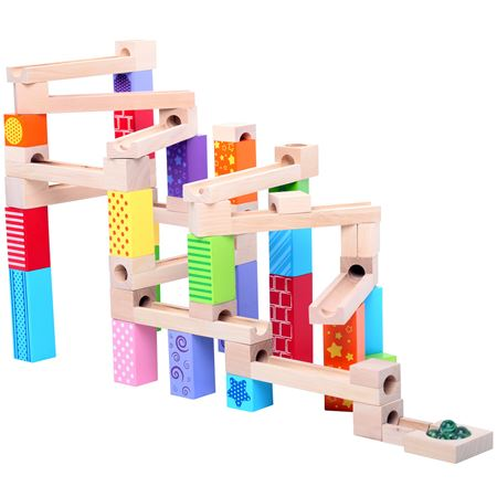 Picture of Wooden Marble Run