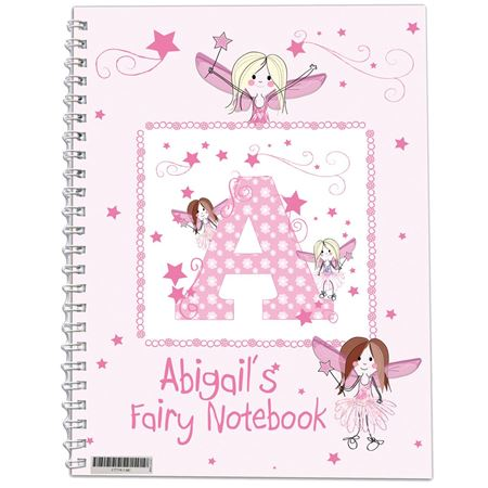 Picture of Fairy Notebook - Personalised