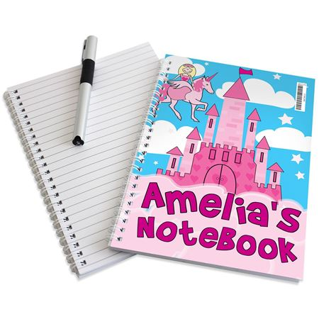 Picture of Princess Notebook - Personalised