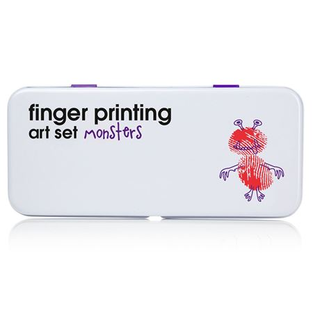 Picture of Finger Printing Art - Monsters