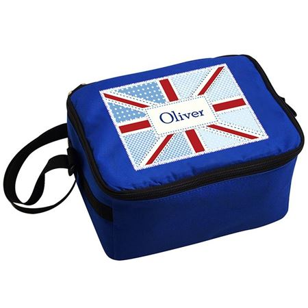 Picture of Lunch Bag - Patchwork Union Jack