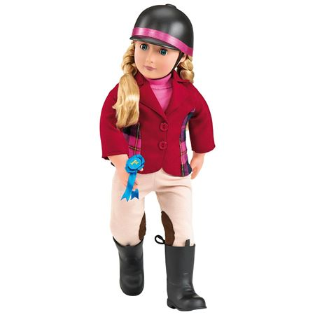 Picture of Lily Anna Deluxe Riding Doll