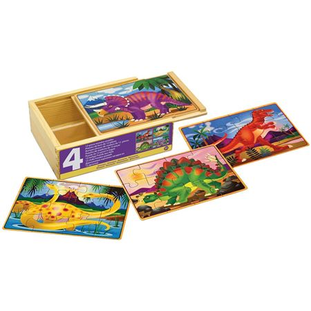 Picture of Dinosaur Puzzles Box