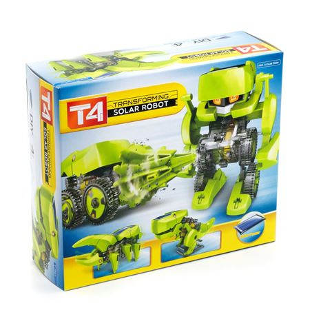 Picture of T4 Transforming Solar Robot