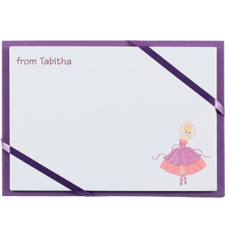 Picture of Named Cards - Princess Ballerina