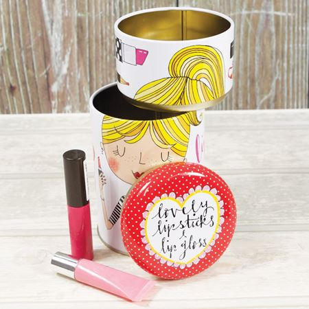 Picture of Lipstick & Lip Gloss Stacking Tin