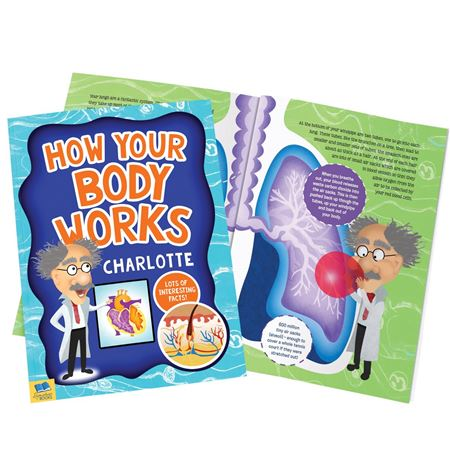 Picture of How Your Body Works Personalised Book