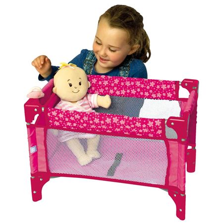 Picture of Deluxe Travel Cot (Pink)