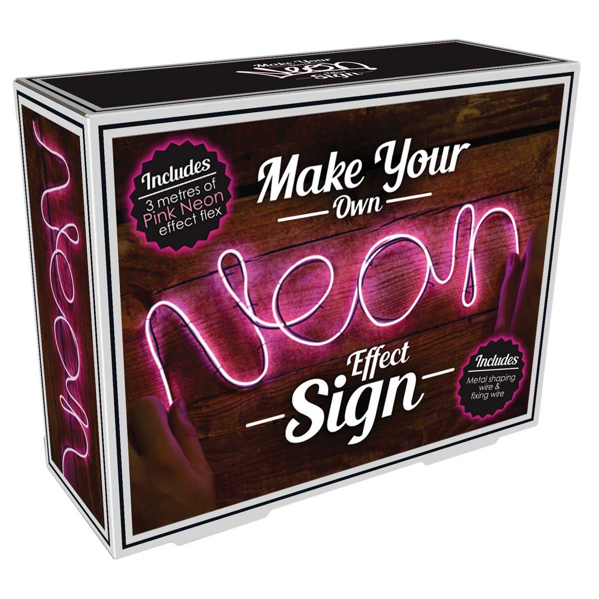 Make Your Own Neon Sign Pink Room Accessories