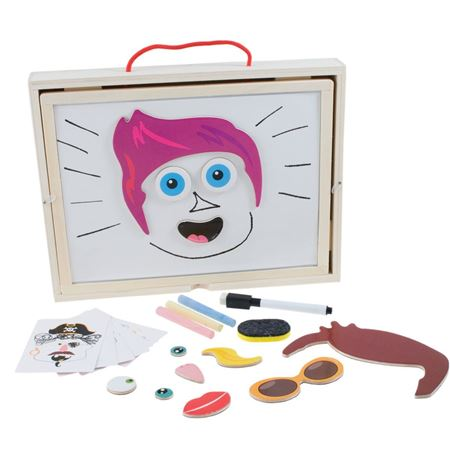 Picture of Magnetic Faces Activity Box