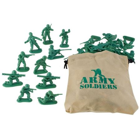 Picture of Army Soldiers with Bag