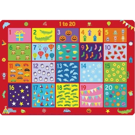 Picture of Placemat - 1 to 20