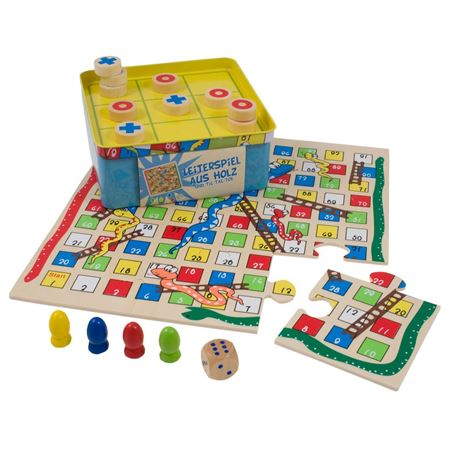 Picture of Snakes & Ladders and Tic Tac Toe