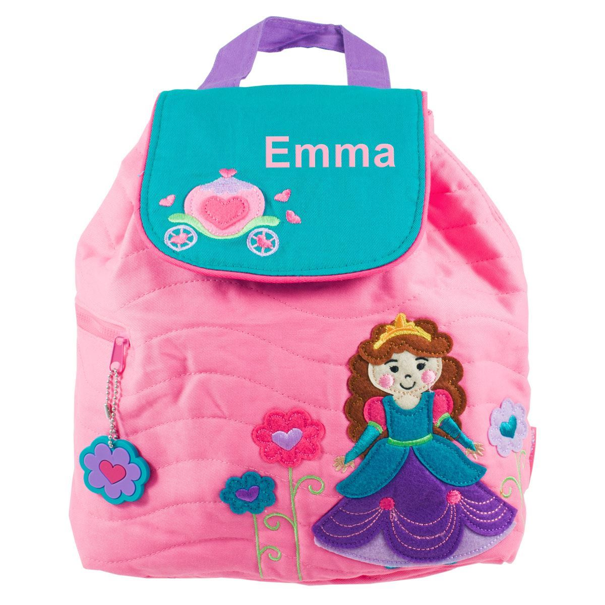 518bfac6dd Picture of Personalised Princess Quilted Backpack