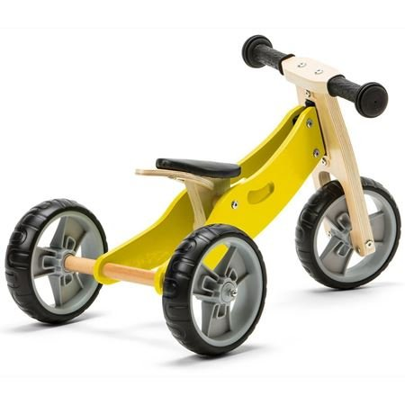 Picture of 2 in 1 Bike - Yellow (Tricycle / Balance Bike)