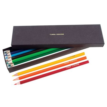 Picture of Box of Named Colouring Pencils