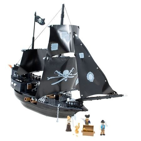 Picture of Pirate Ship Building Set
