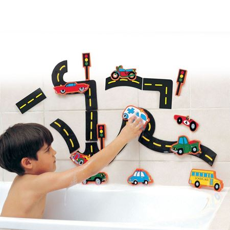 Picture of Traffic Bath Stickers