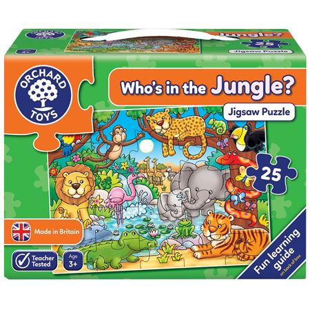 Picture of Who's in the Jungle