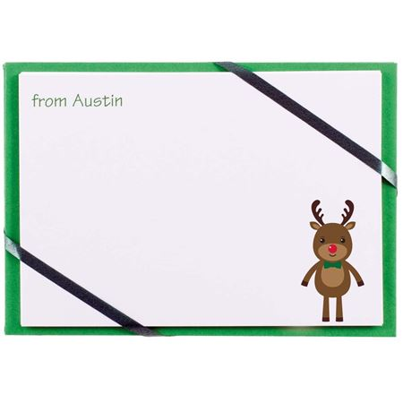 Picture of Personalised Rudolph Cards