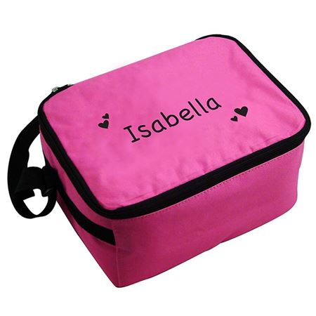 Picture of Cool Bag/Lunch Box - Pink Hearts