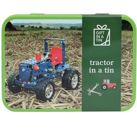 Picture of Tractor in a Tin
