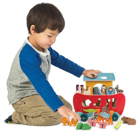 Other Toys For Baby Beautiful Baby Girl Boy Bundle Of 2 Toys Noah's Ark And First Puzzle Two Piece 12 Months Toys For Baby