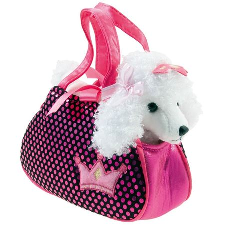 Picture of Fancy Pal Poodle Puppy Bag