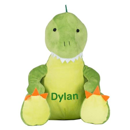 Picture of Personalised Dinosaur Soft Toy