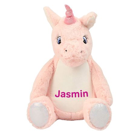 Picture of Personalised Unicorn Soft Toy