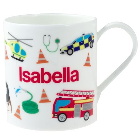 Picture of Personalised China Mug - 999 Emergency!