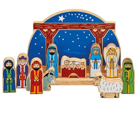 Picture of Starry Night Nativity Set