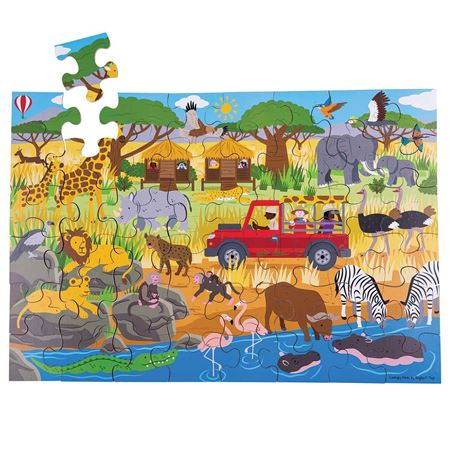 Picture of Safari Floor Puzzle