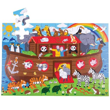 Picture of Noah's Ark Floor Puzzle