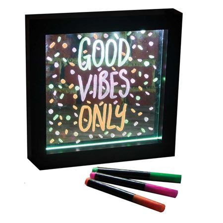 Picture of Neon Effect Message Frame