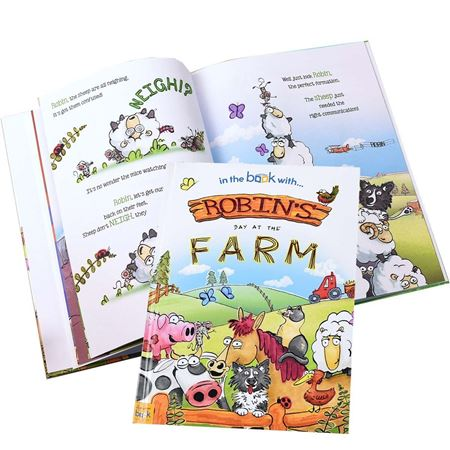 Picture of Personalised 'My Day at the Farm' Story Book