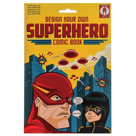 Picture of Design Your Own Superhero Comic Book