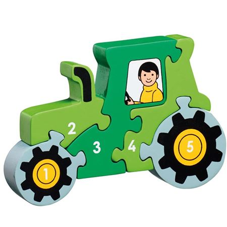 Picture of Tractor 1-5 Puzzle