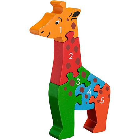 Picture of Giraffe 1-5 Puzzle