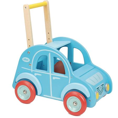 Picture of Blue Car Baby Walker