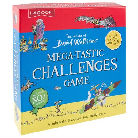 Picture of David Walliams Mega-Tastic Challenges Game